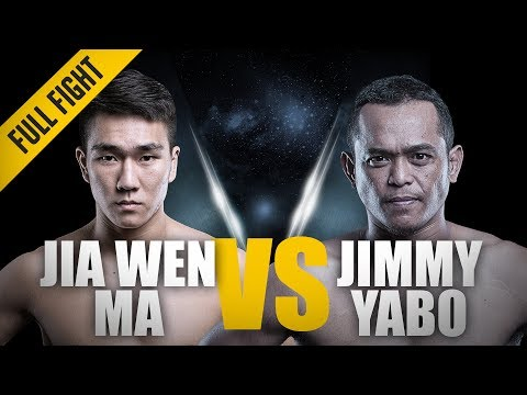ONE: Full Fight | Ma Jia Wen vs. Jimmy Yabo | Blistering Combinations | August 2016