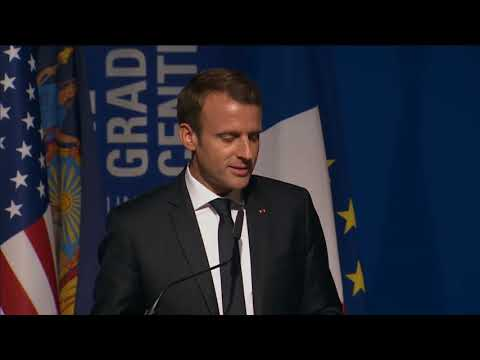 President Macron at the Inauguration of the French Dual Language Fund (Speech - Original Version)