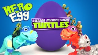 Ninja Turtles Superhero Play-Doh Surprise Egg with Half Shell Heroes Toys Unboxing by KIDCITY