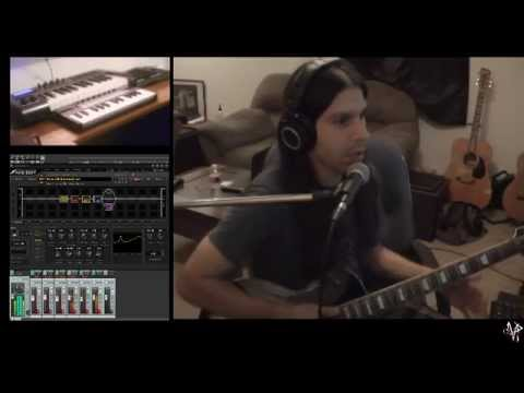 Guitar Freestyle - AXE FX II - Live Looping 7/13/15