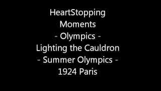 Heart Stopping Moments 1924 Paris Summer Olympiad VIII Olympic Cauldron Lighting Opening Ceremony
