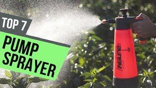 7 Best Pump Sprayer 2018 Review