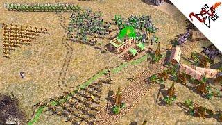 Empire Earth 2 - 5v5 EXTREME AIs | Skirmish Gameplay