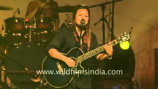 M.O.D band from Manipur at Northeast festival, Delhi