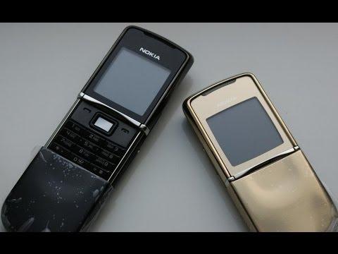 Nokia 8800 Arte Black. Китайская и финская копия. - YouTube