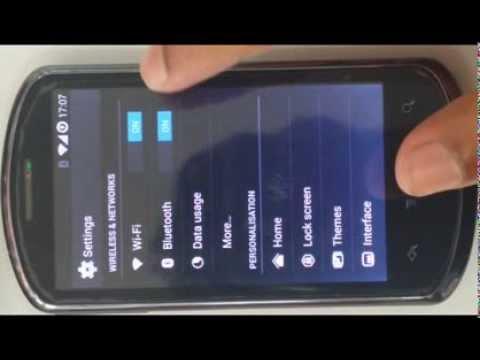 Huawei Ideos x5 u8800 running on kitkat 4.4.2