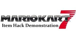 [Mario Kart 7] Spider3DSTools Item Hack Demonstration