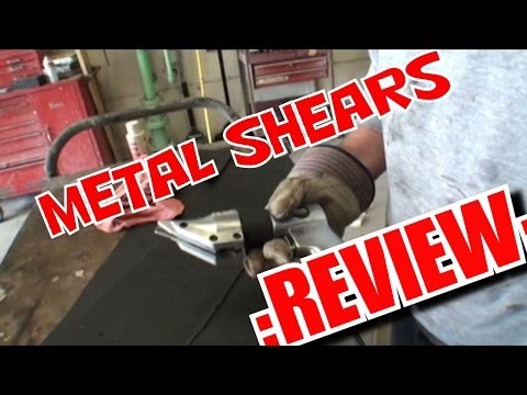 Harbor Freight Metal Shear Review-GOOD OR BAD?