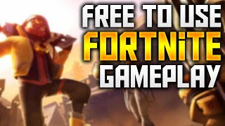 Free To Use | Fortnite Battle Royale Gameplay | 1080p 60fps(No Copyright)