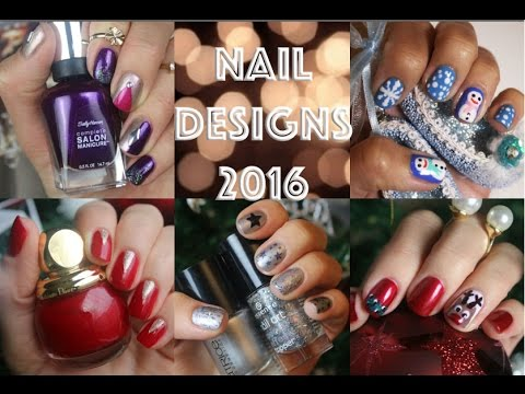 Winter Nail Designs 2016 Super Compilation