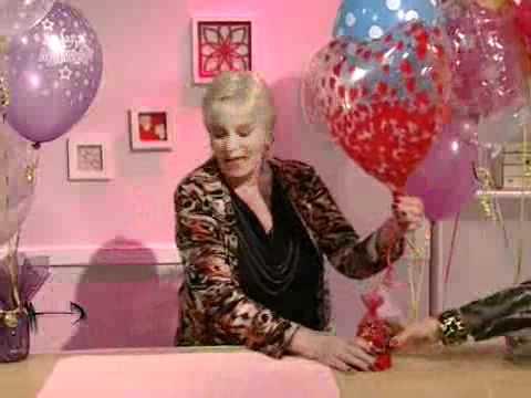 Bases para globos con helio youtube for Donde comprar globos