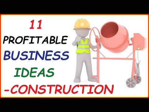 Top 11 Construction Business Ideas ( Profitable Civil Engineering Business Ideas To Make Money)