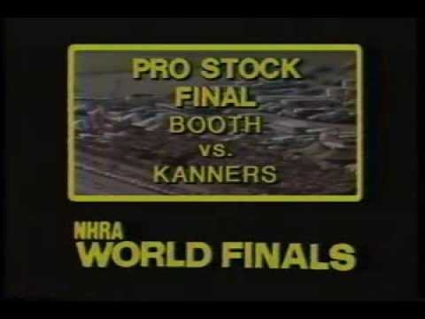 Drag Racing 1976 NHRA World Finals PRO STOCK Final Round