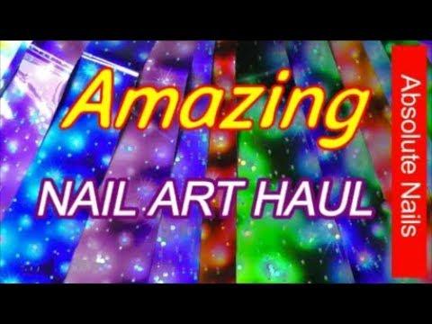 NAIL ART HAUL ~ NICOLE DIARY | ABSOLUTE NAILS