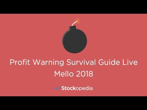 Profit Warnings Survival Guide (ft in FT Money) - Mello Show 2018