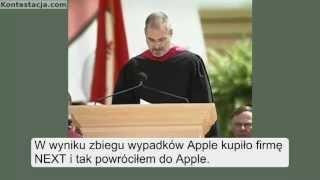 Steve Jobs - wystąpienie na Uniwersytecie Stanford
