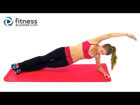 Pilates And Cardio Workout - 28 Minute Fitness Blender Cardio Pilates Blend