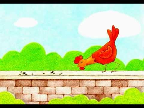 Une poule sur un mur comptine youtube for Decoller un miroir du mur