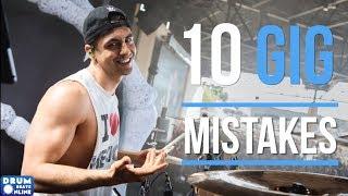 10 HUGE Mistakes Drummers Make At Gigs | Drum Beats Online