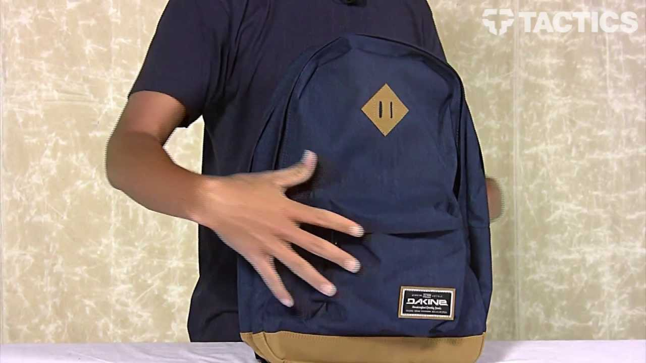 DAKINE Detail Backpack Review - Tactics.com - YouTube