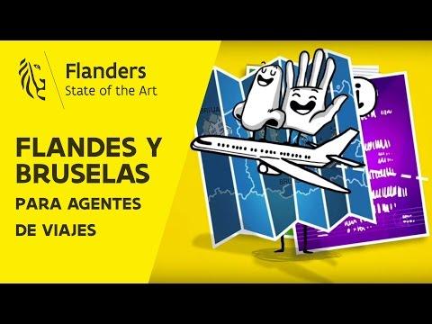 Vídeo de Flandes y Bruselas para agentes de viajes