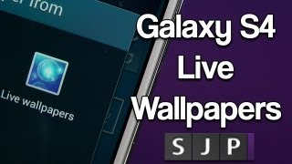 Samsung Galaxy S4 Live Wallpapers