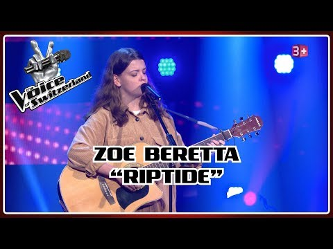 Zoe Beretta - Riptide   Blind Auditions   The Voice of Switzerland