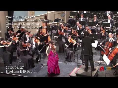 Khachaturian Violin Concerto Violinist Ji-Hae Park - 2nd mov. 바이올리니스트 박지혜