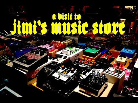 A VISIT TO JIMI'S MUSIC STORE, DUBLIN