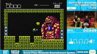 Battle Kid 2: Mountain of Torment by Spiriax in 59:56 - Awesome Games Done Quick 2016 - Part 72