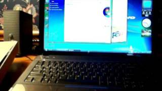Lenovo G550 First Boot- In Windows Vista