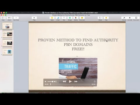 Proven Method to Find Authority PBN Domains Free!!