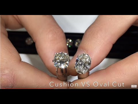 Live Show #9: Diamond Faceoff - Oval VS Cushion Cut Diamonds