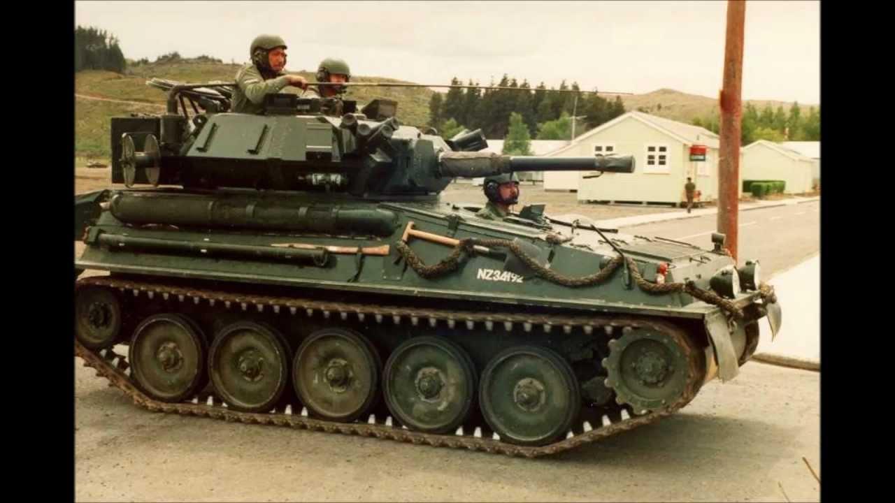 Fv 101 Scorpion Light Tank Youtube