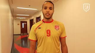 يوسف العربي: مباراة العربي ستكون خطوة للأمام