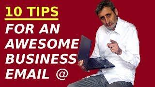 10 Tips for Writing an AWESOME BUSINESS EMAIL (in English)