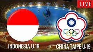 Live Streaming RCTI Timnas U-19 Indonesia vs Chinese Taipei di Piala AFC U-19 2018