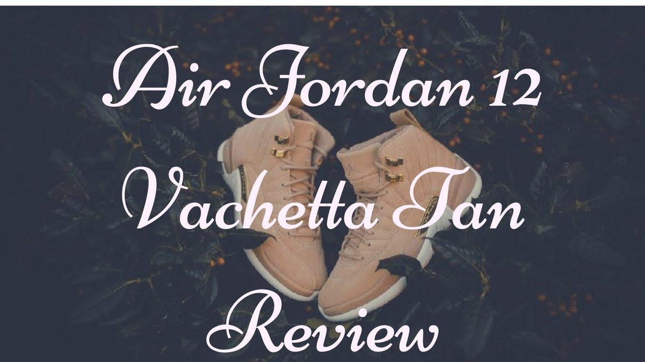151609431832e7 Air Jordan 12 Vachetta Tan Review and On Feet - YouTube