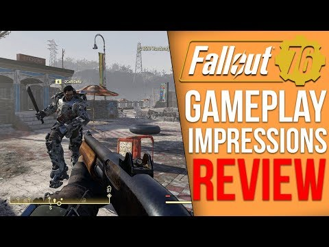 I got to play Fallout 76 early and this is what I thought (Gameplay Impressions)