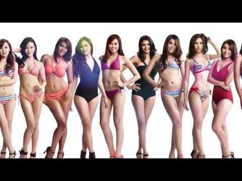Miss World Malaysia 2014 Bikini Photoshoot Highlights