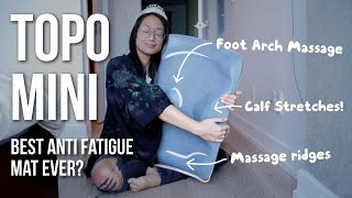 Ergodriven Topo Mini anti-fatigue mat 💻 review (must have for a standing desk, work from home)