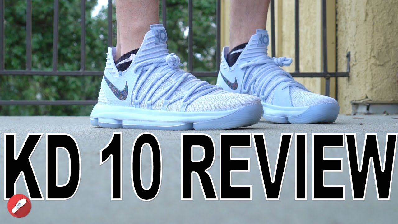 4bf9ff2a733c4 Nike Kd 10 Review! - YouTube