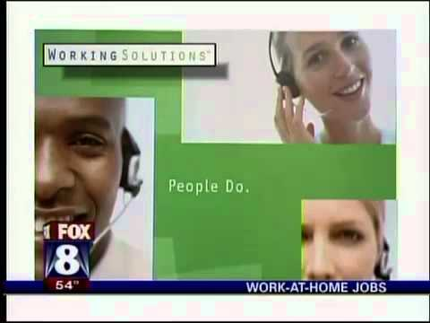 Work At Home Jobs  - WGHP Fox Greensboro news segment
