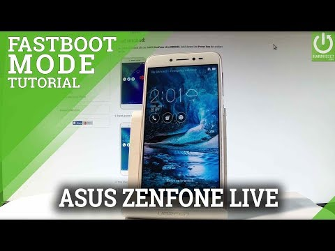 CSC Fastboot Mode in ASUS ZenFone Live - Enter / Quit CSC