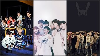 Kpop Battle : BTS vs Block B vs B.A.P