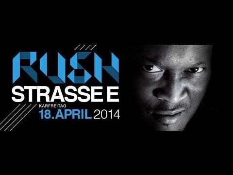 DJ RUSH@Reithalle (Strasse E) Dresden 18.04.2014