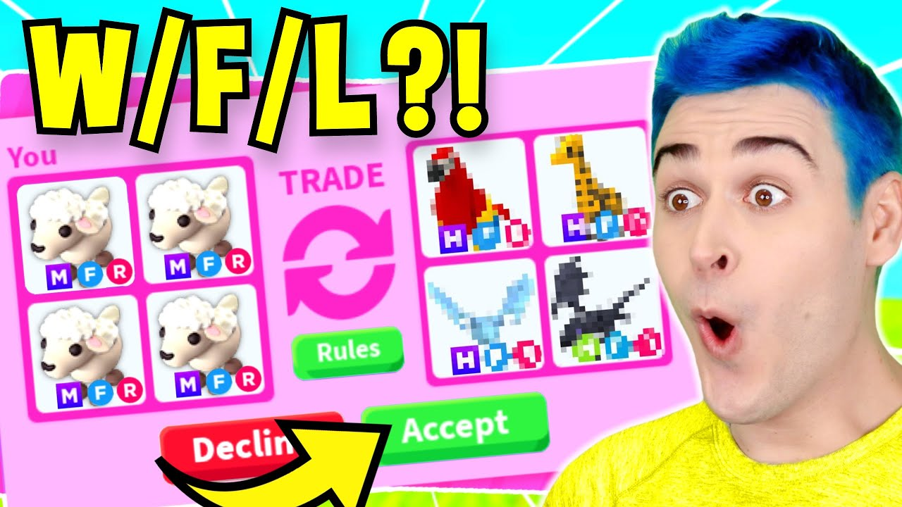 Download What People TRADE For *MEGA NEON LAMB* !! Trade Proofs UNDERCOVER In RICH Server, Adopt Me Roblox