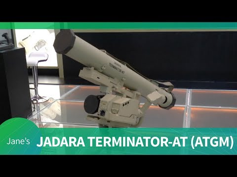 Jadara's Terminator-AT Anti-Tank Guided Missile (AAD 2018)