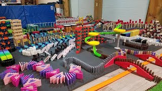 INSANE 3,000 Domino + Hotwheels Falldown