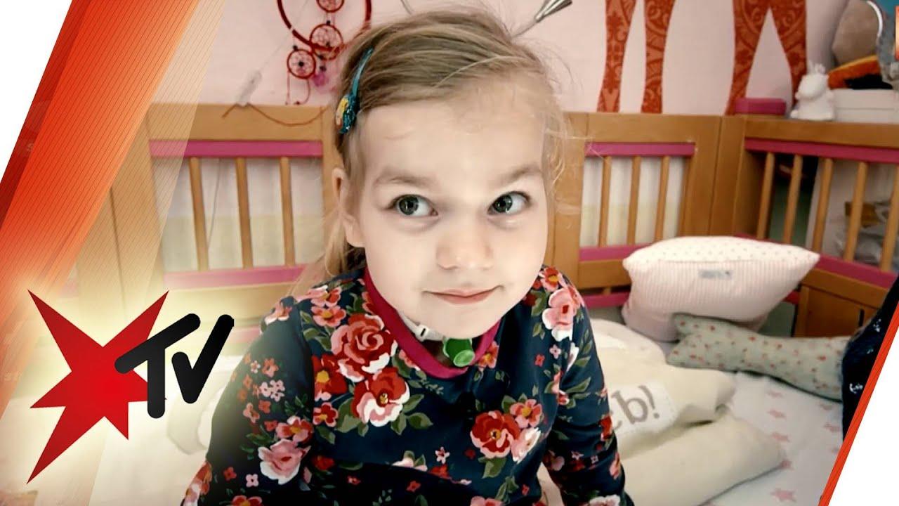 Eva (6) darf nicht schlafen - Leben mit dem Undine-Syndrom | stern TV